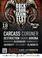 2014.10.18 - ROCK YOUR BRAIN FEST, Selestat (France)