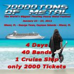 2012.01.23 - 01.27 - 70000 TONS OF METAL, Miami FL (U.S.A.)