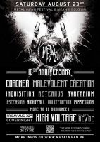 2014.08.23 - METAL MEAN FEST, Mean (Belgium)